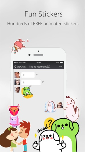 Wechat on the app store reheart Choice Image