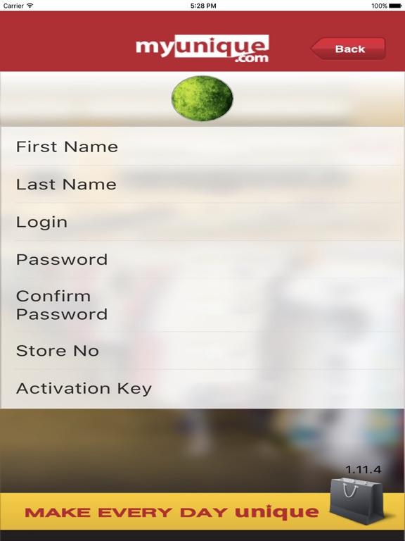 my unique app activation key