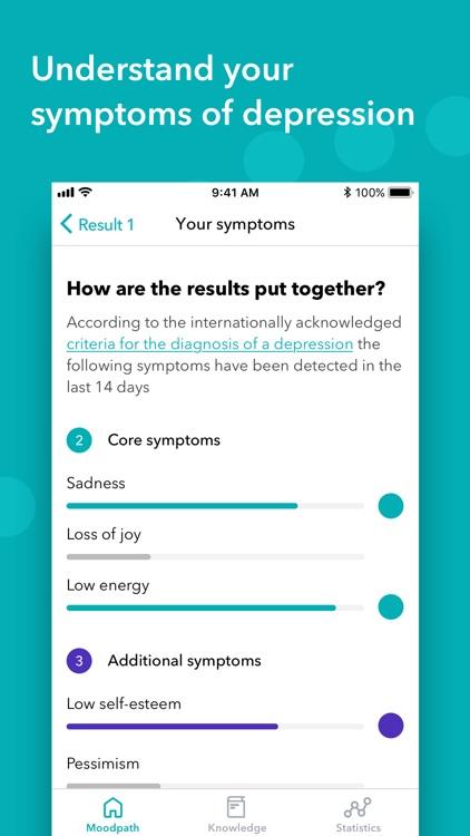 Moodpath: Depression & Anxiety screenshot-3