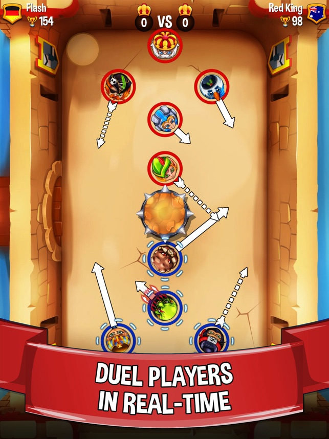 Get ready to duel! - Flick Arena launches globally on the App Store Image