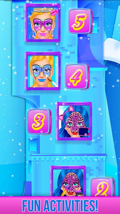 Ice Princess Face Paint Salon screenshot-6