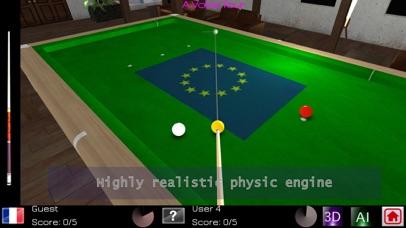 Carom Billiards Pro screenshot 1