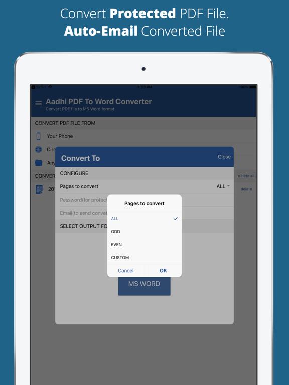 Aadhi PDF to Word Converter screenshot 8