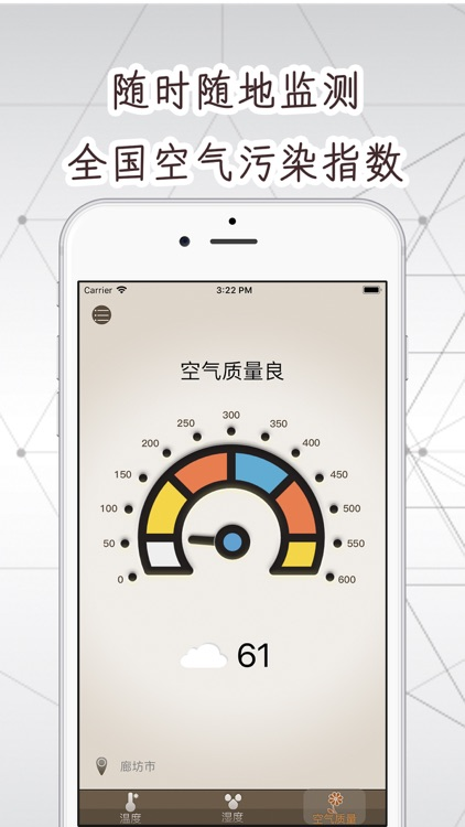 智能温湿度计 -温度计实时测温度湿度