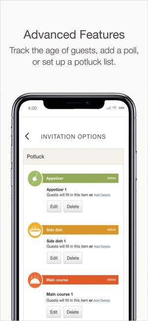 Punchbowl online invitations on the app store stopboris Gallery
