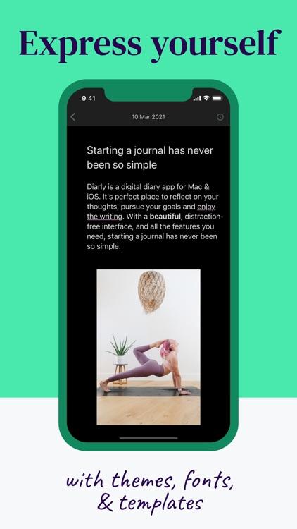 Diarly: Diary, Journal & Notes screenshot-3