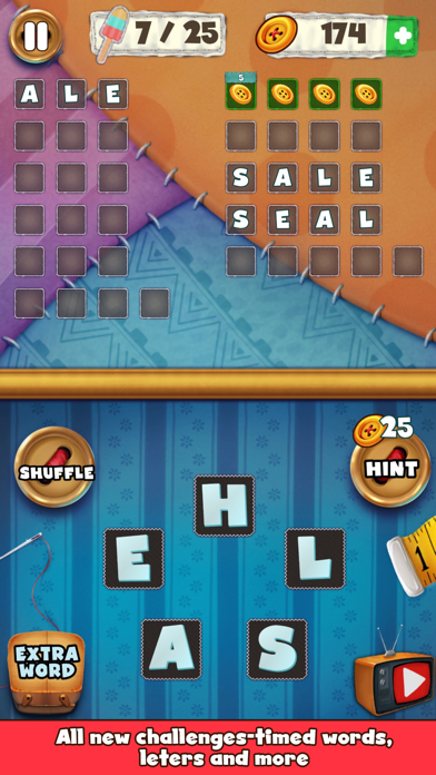 Patch Words - Word Puzzle Game screenshot three