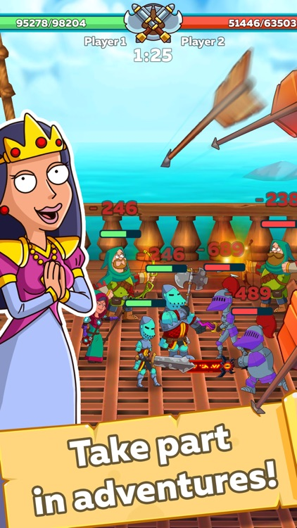 Hustle Castle: Kingdom games screenshot-6