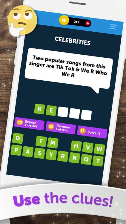 Crossword Quiz+ screenshot-4