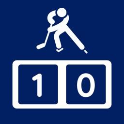 Simple Ice Hockey Scoreboard