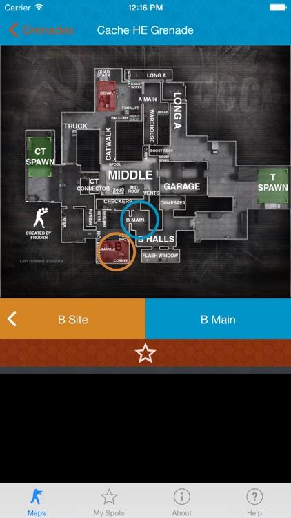 CS:GO Grenade Practice