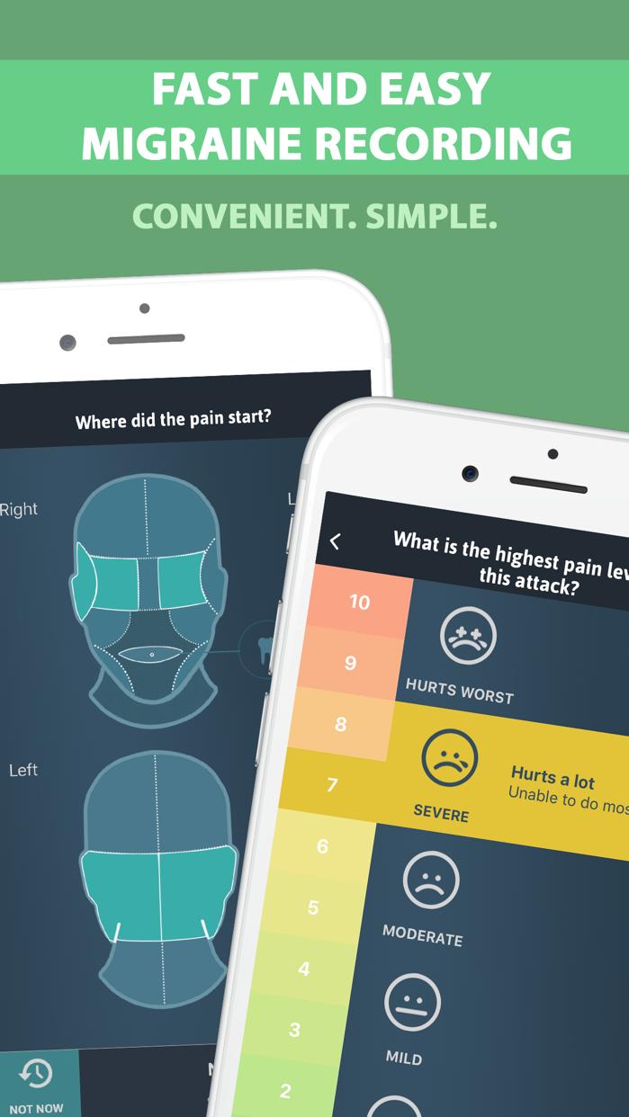 Migraine Buddy Screenshot