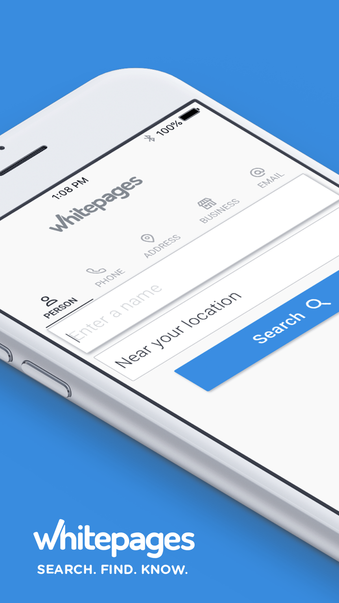 Whitepages People Search Screenshot