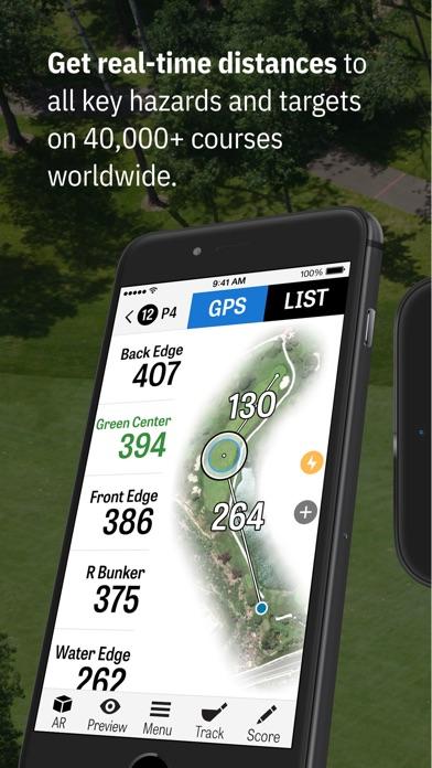 Golfshot: Golf GPS Screenshot 1