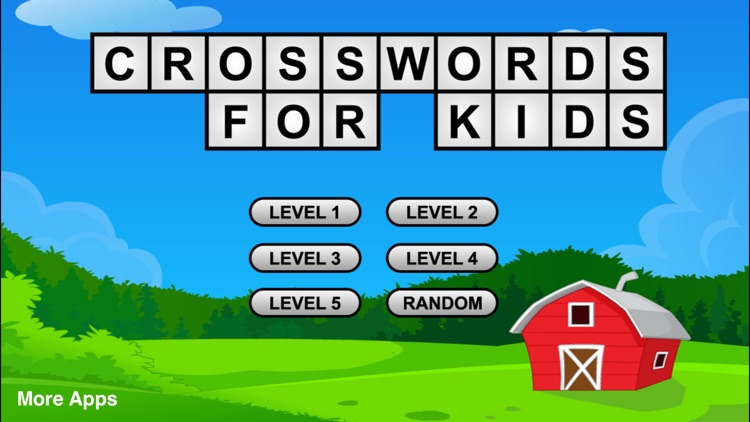 Crossword Puzzle Game For Kids screenshot-0