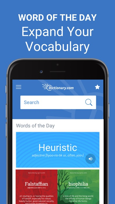 Dictionarycom Pro Learn Words review screenshots