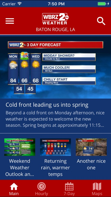WBRZ Weather screenshot-1