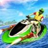 水 ジェットスキー 力 ボート レーシングアイコン