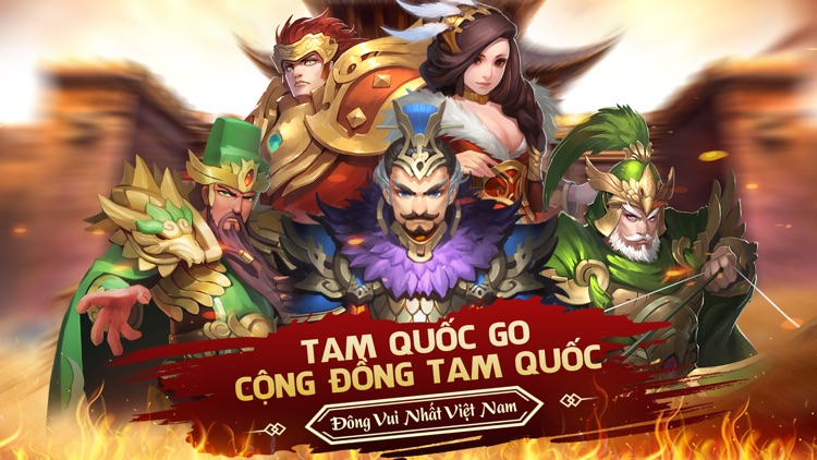 Tam Quốc GO Mobile screenshot-0