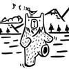 IDEAMP Co.,Ltd. - クマチャン万歩計 ʕ·.· ʔ アートワーク