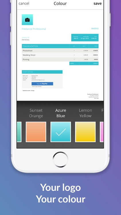 Albert Invoice Generator screenshot-4