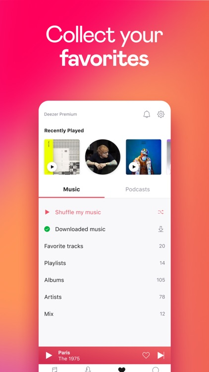Deezer: Music & Podcast Player screenshot-6