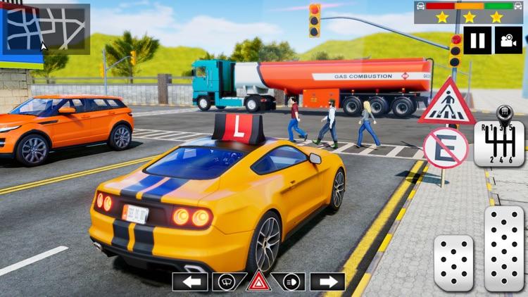 Super Car Driving School 2021 screenshot-4