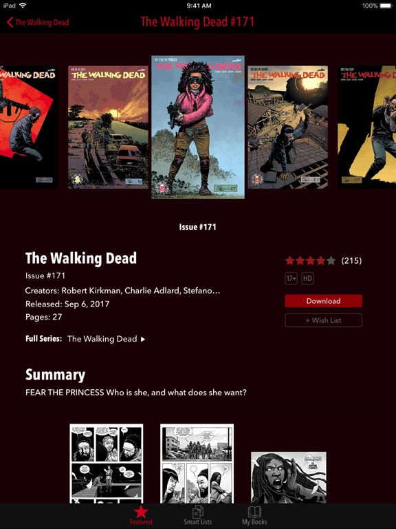 The Walking Dead iPad