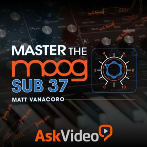 Master Moog Sub 37 Synth