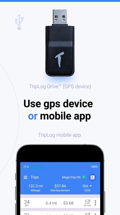 TripLog: Mileage Tracker & Log
