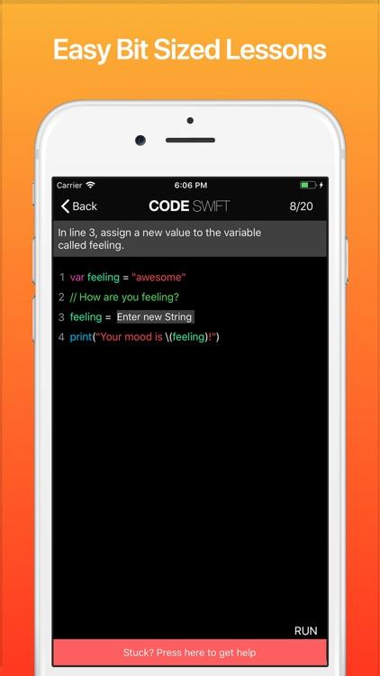 Code! Learn Swift Version screenshot-6