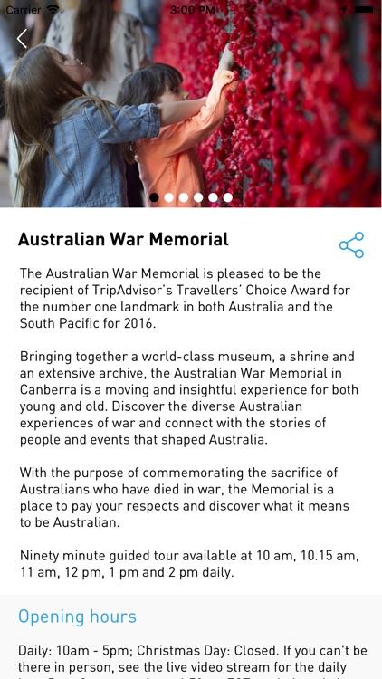 Visit Canberra screenshot-4