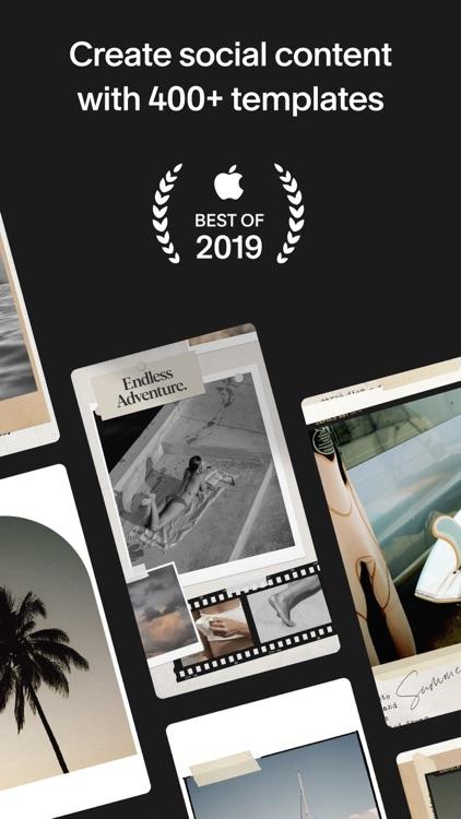 Unfold: Story & Collage Maker screenshot-0