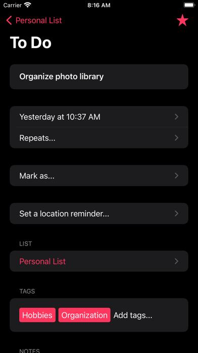 Super ToDo's Screenshots