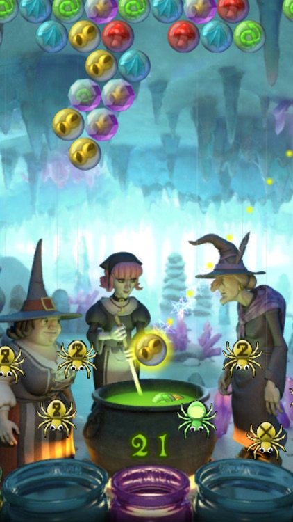 Bubble Witch Saga screenshot-3