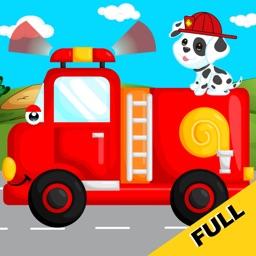 Fire-Trucks Game for Kids FULL