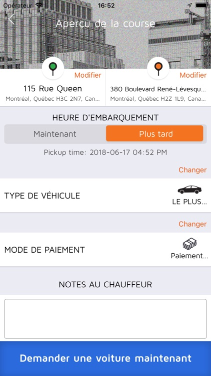 Taxi Diamond: Montreal's Taxi screenshot-5