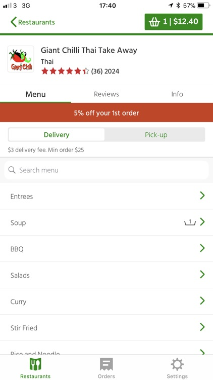 Menulog -Order Takeaway Online screenshot-1