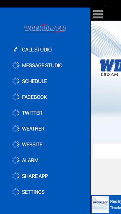 WDEL 101.7 FM Скриншоты5