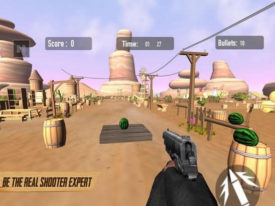Real Gun Shoot - Fruit Target screenshot 5