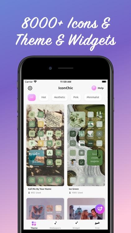 IconChic-Aesthetic Icons Theme screenshot-3