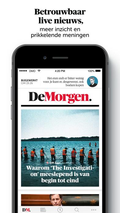 De Morgen - Nieuwsのおすすめ画像2