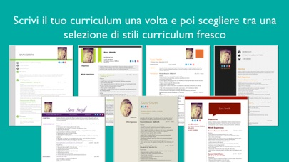 Screenshot of Resume Designer Pro2