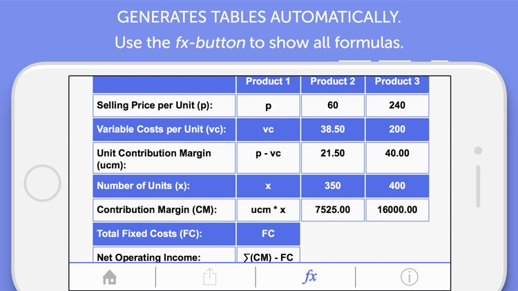 Cost Accounting Calculator screenshot-2