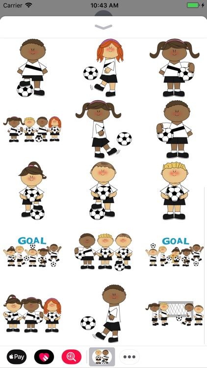 Soccer Toons Stickers
