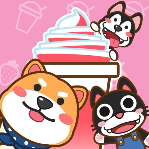 我的奶茶屋logo