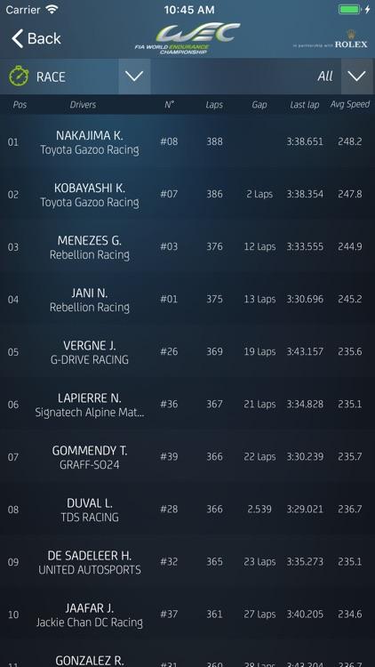 World Endurance Championship® screenshot-3