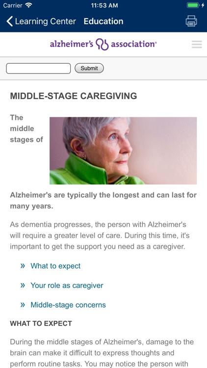 Alzheimer's Manager