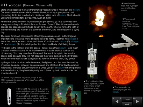 The Elements by Theodore Gray Screenshots