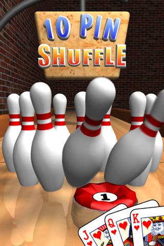 10 Pin Shuffle ボウリング ScreenShot0